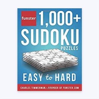 A book of sudoku puzzles