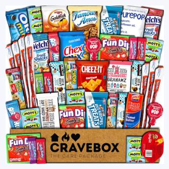 Cravebox snack package