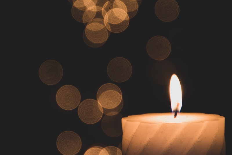 How To Set Up A Wedding Memorial Candle 9 Candle Ideas Cake Blog
