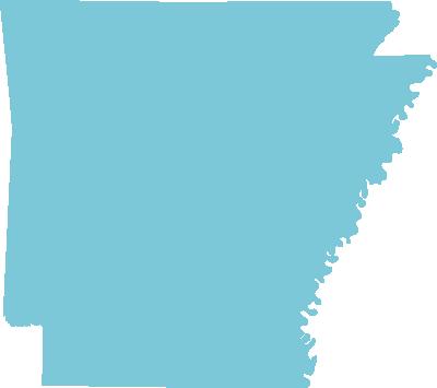 Arkansas state graphic