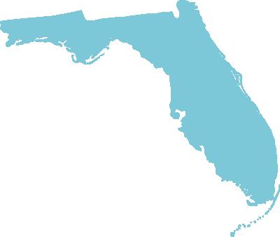 Florida state graphic