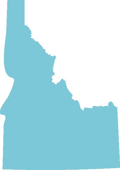 Idaho state graphic