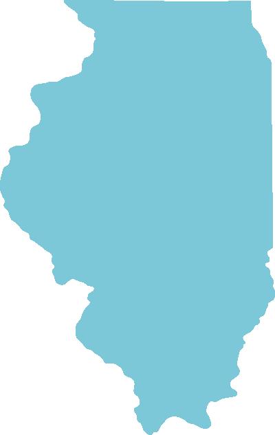 Illinois state graphic
