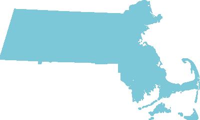 Massachusetts state graphic