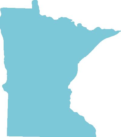 Minnesota state graphic