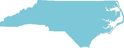 North Carolina state graphic