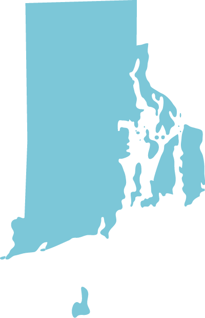 Rhode Island state graphic