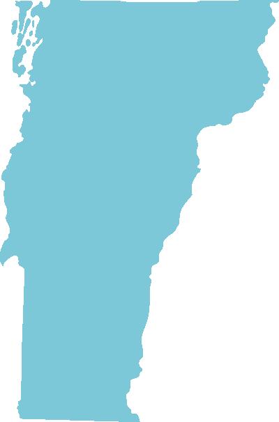 Vermont state graphic