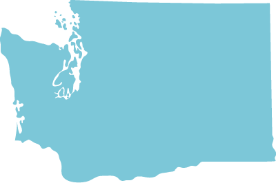 Washington state graphic